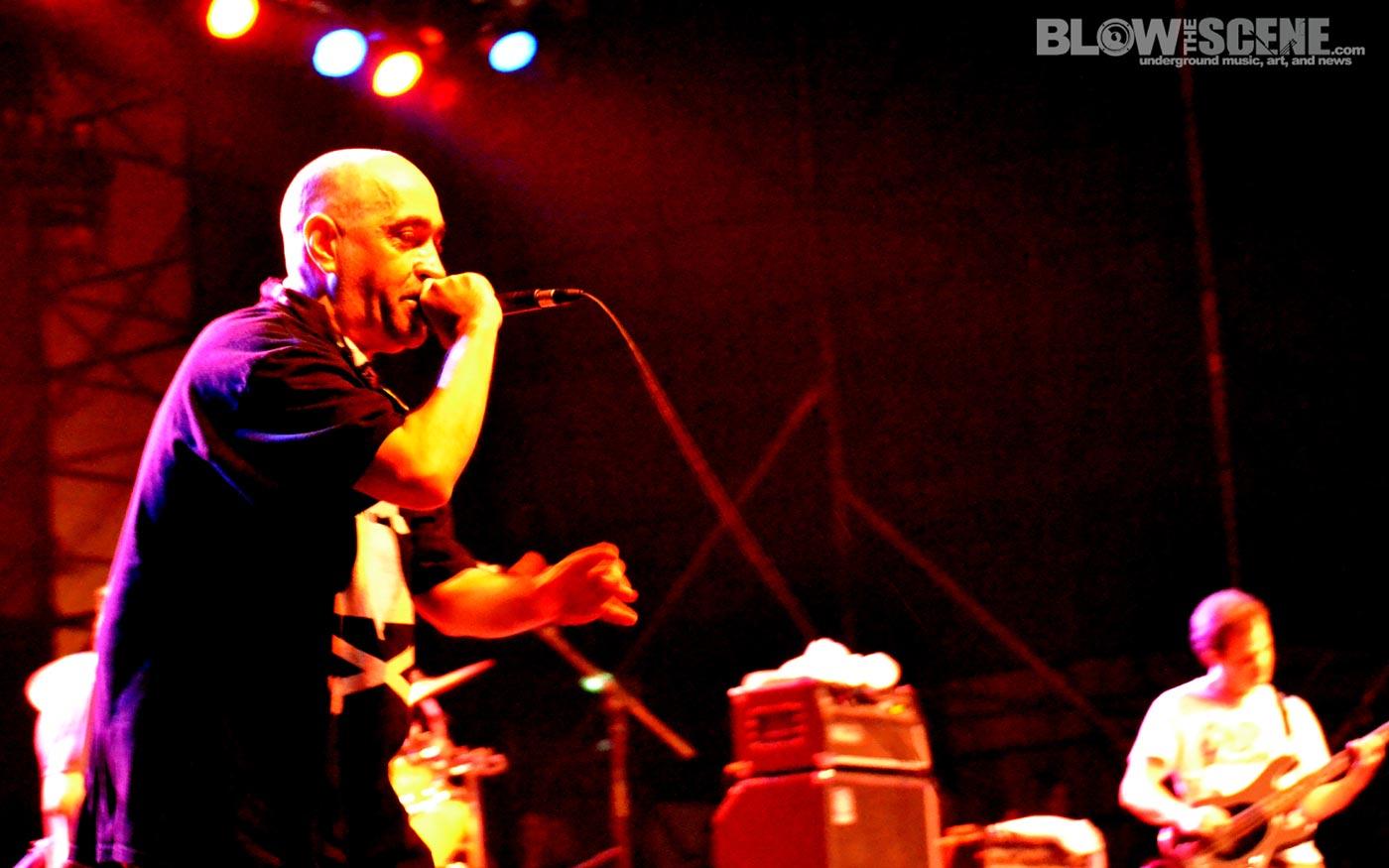Dead Milkmen - Live at Riot Fest East in Philadelphia Sept 24, 2011 at Festival Pier