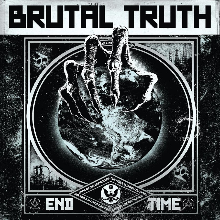 End Time LP Cover - Brutal Truth