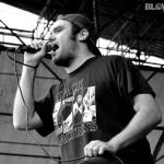 Shot Baker - Band Live at Riot Fest In Philadelphia at Festival Pier