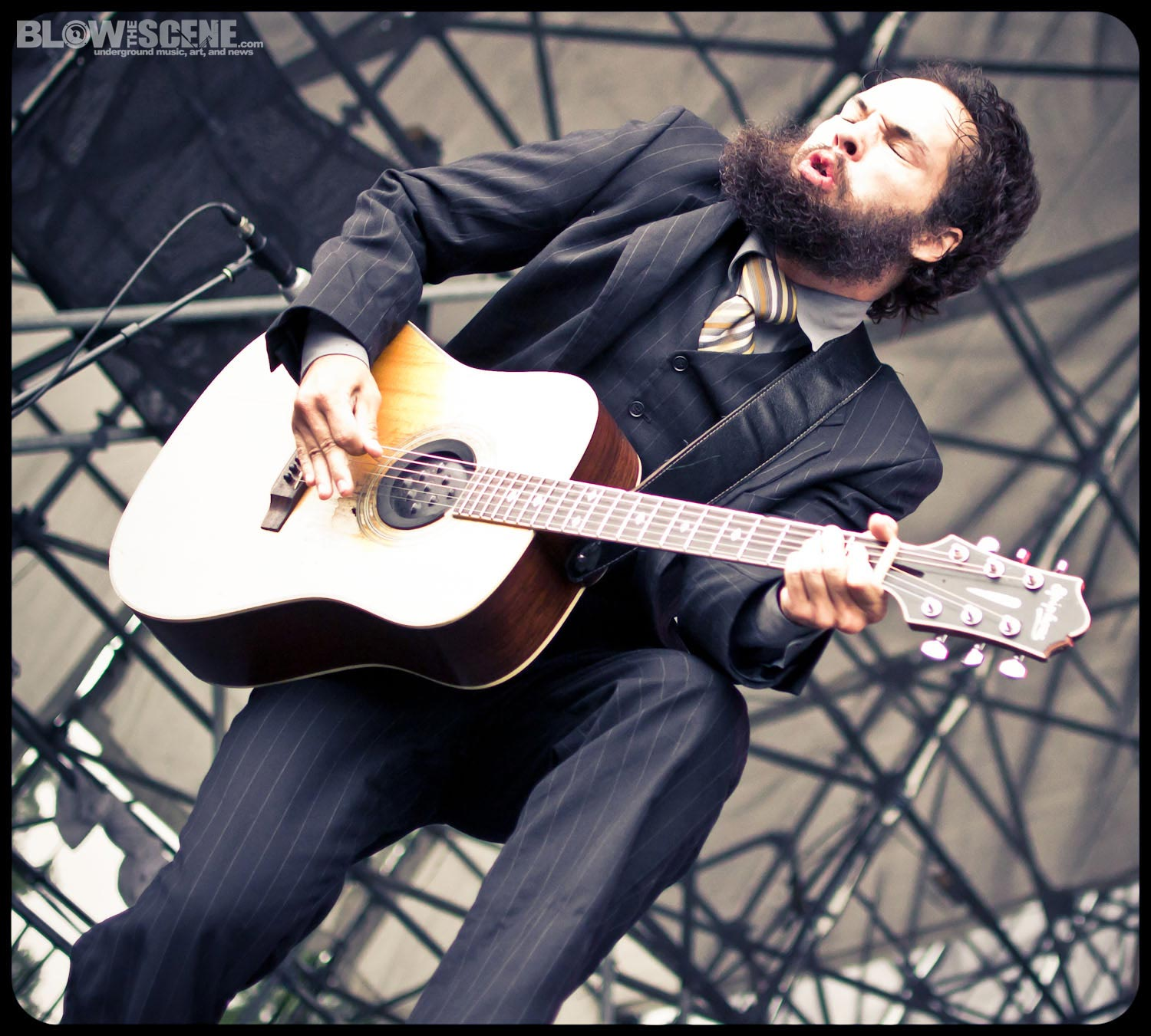 Larry And His Flask - Riot Fest East 2011 - By Dante Torrieri