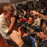 Agitator - band live at Broad St. Ministry in Philadelphia on Nov 4, 2011 for Joe Hardcore Benefit