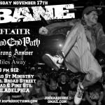Bane - Defeater - 2011 - Tour Photos