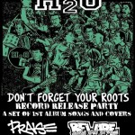 H20 - Don't Forget Your Roots record release in Philadelphia Nov 20 ,2011 at The Barbary