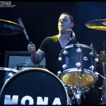 Mona - band live at The Electric Factory in Philadelphia on Oct 20, 2011