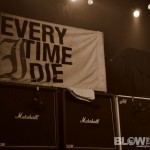 Every Time I Die - live at The Electric Factory in Philadelphia on Nov 26, 2011