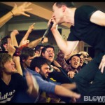 Touche Amore - band live at Broad Street Ministry in Philadelphia on Dec 3, 2011
