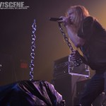 Warbeast - band live at The Electric Factory in Philadelphia on Nov 27, 2011