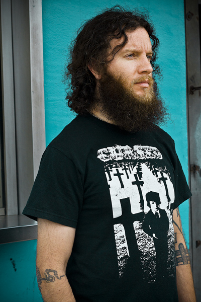 Aaron Turner of Isis and Hydra Head Records