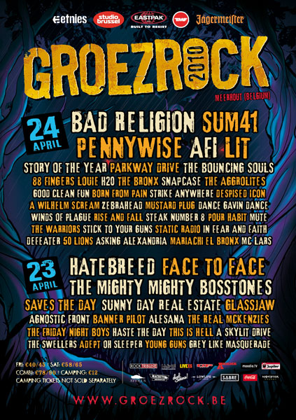 Groezrock 2010 poster