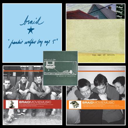 Braid vinyl albums