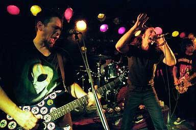 DRI punkk band live