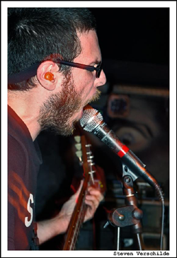 Iron Lung guitarist live