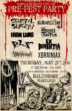 Maryland-DeathFest Pre-Party 2010