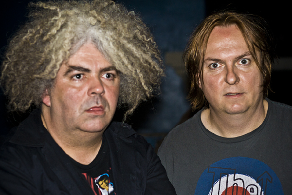 Melvins Buzz Osbourne and Dale Crover