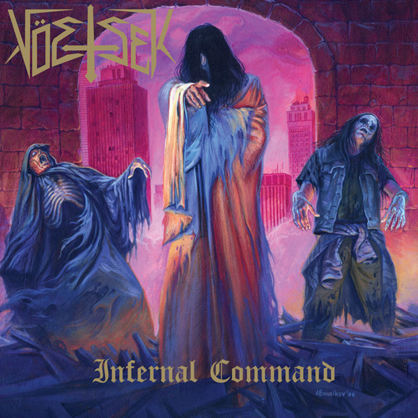 Voetsek LP Infernal Command on Tankcrime Records