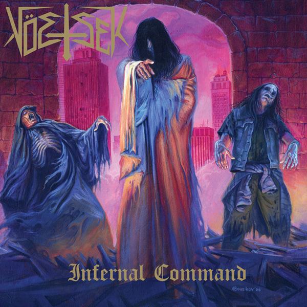 Voetsek LP Infernal Command on Tankcrime Records