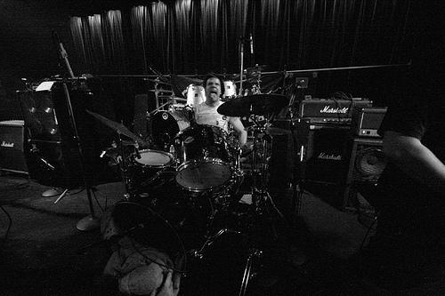 Voetsek Scotty on Drums Photo
