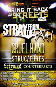 Stray From The Path - Cruel Hand Tour 2011