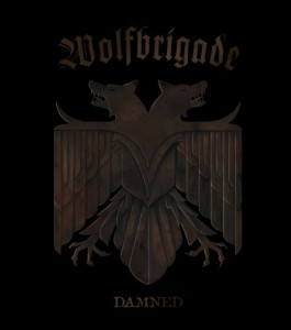 Wolfbrigade Damned LP Cover