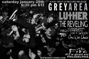Grey Area - Philly Jan 28, 2012