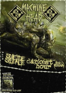 Machine Head, Suicide Silence, Darkest Hour US Tour 2012