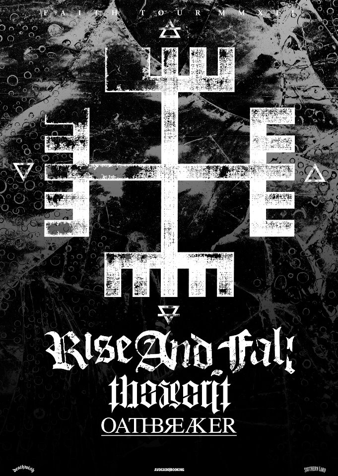 Rise and Fall - Oathbreaker - The Secret European Tour 2012