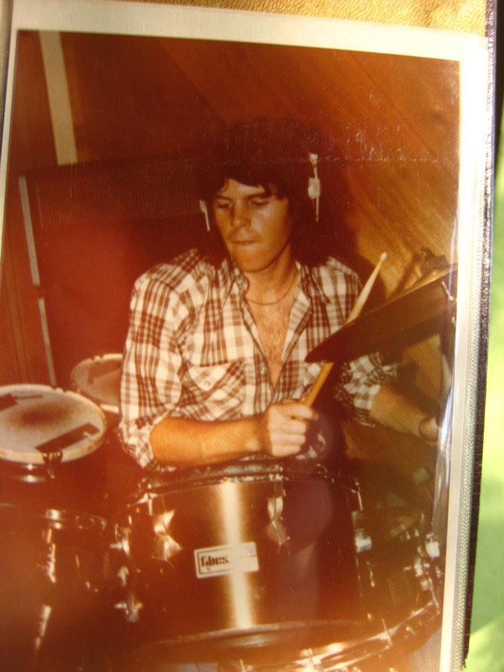 Pat Mastelotto in the 70s