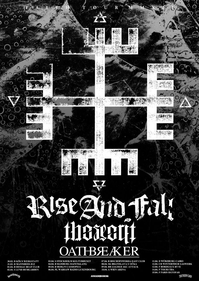 Rise and Fall Oathbreaker Tour 2012
