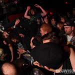 Toxic Holocaust - band live in Phila at The Barbary on March 15, 2012
