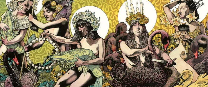 Baroness Yellow and Green album cover