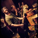 Hot Water Music band live at The First Unitarian Church in Philadelphia