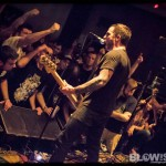 Old Man Gloom - band live at First Unitarian Church in Philadelphia