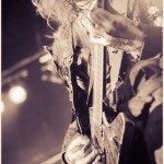 Watain - band live at Trocadero in Philly on Decibel Mag Tour 2012