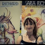 Sara Richard Philadelphia Comic Con Artist 2012