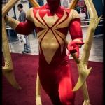Comic Con Philadelphia 2012 Spiderman Red Costume