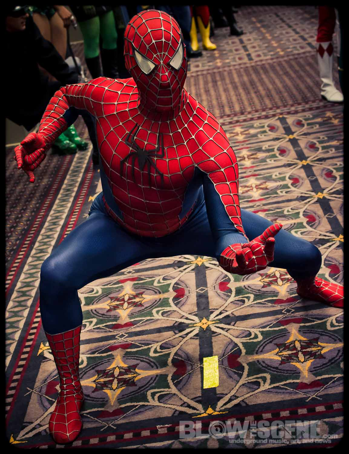 Comic Con Philadelphia 2012 Spiderman