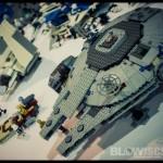 Comic Con Philadelphia 2012 Table Displays Stars Wars Legos
