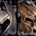 Comic Con Philadelphia 2012 Table Masks