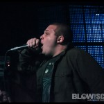 Blacklisted - band live at The Barbary in Philadelphia
