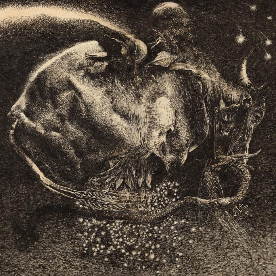 Horseback - Half Blood album cover