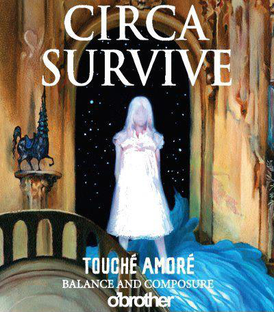 Touche Amore Circa Survive Tour 2012