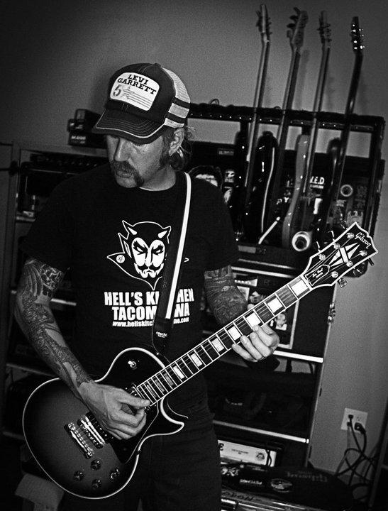 Bill Kelliher- Primate band in studio