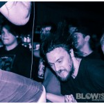 Black Breath - band live at The Barbary in Philadelphia July 2012