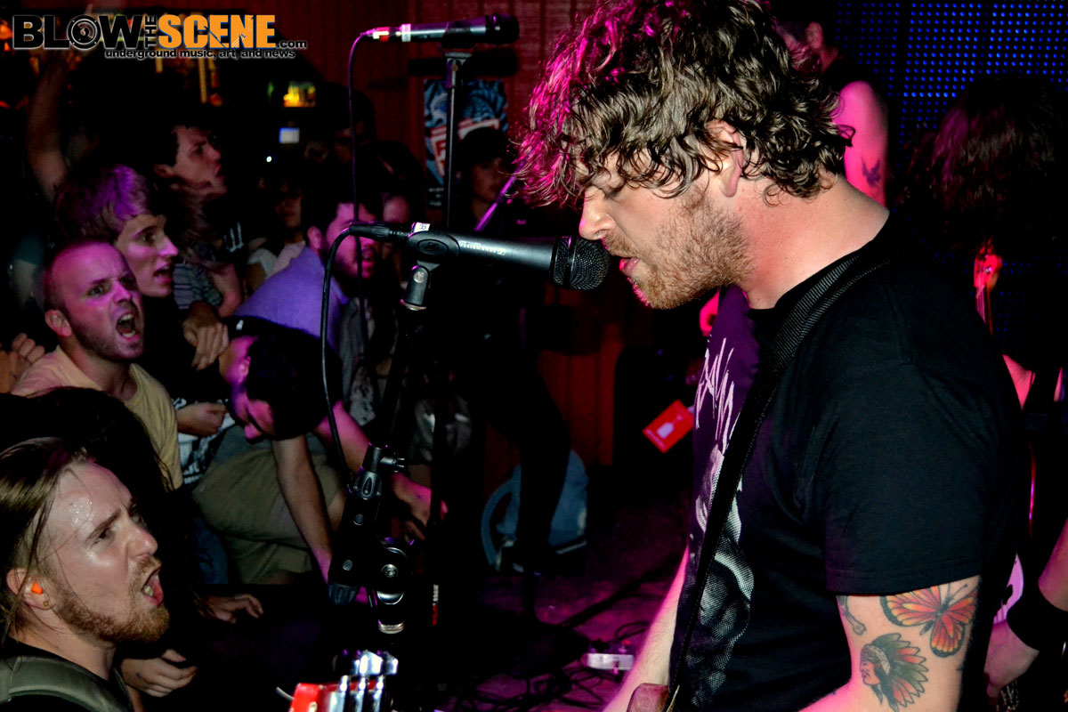From Ashes Rise - band live in Philadelphia 2011