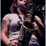 Hub City Stompers - band live in Philadelphia July 2012 - Dante Torrieri