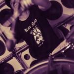 Jucifer -band live at Kung Fu Necktie in Philadelphia July 2012