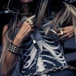 Justina - Vans Warped Tour 2012 - Camden, NJ