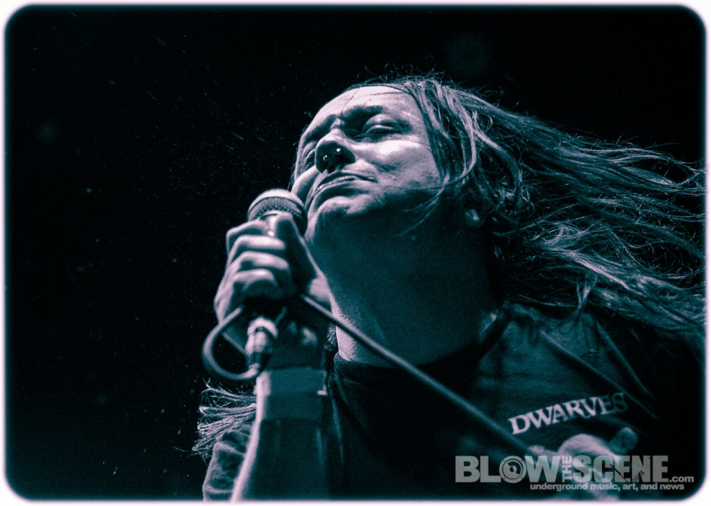 Municipal Waste band live at Union Transfer in Philadelphia