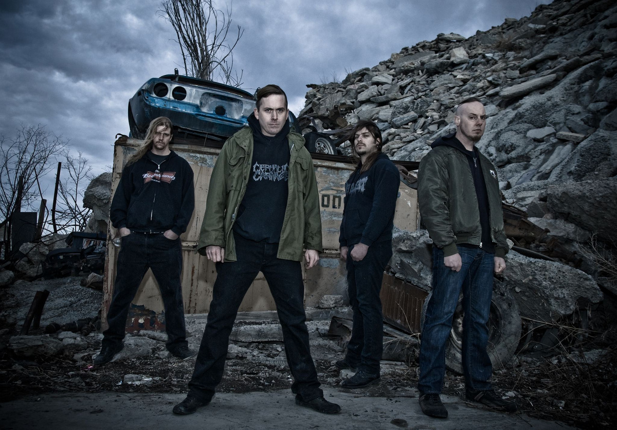 Cattle Decapitation - band 2012