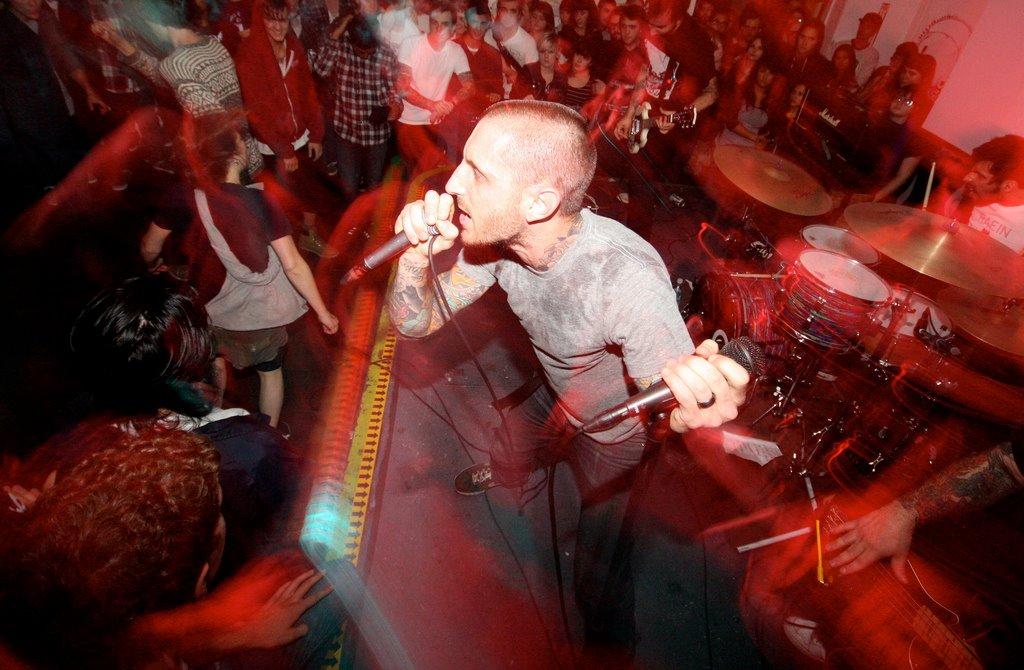 Living Eyes - band live
